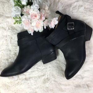 Splendid  Strap Heeled Ankle Boots 8